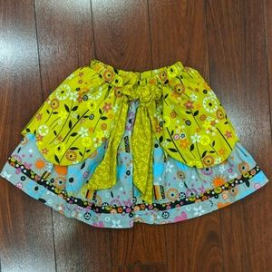 Size 5 girls jelly the pug skirt